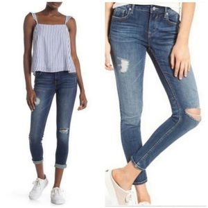 Vigoss Thompson Tomboy Distressed Jeans